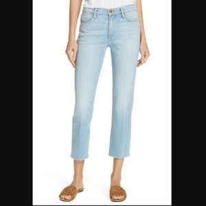 FRAME Le High Straight Crop Jeans 30 NWT